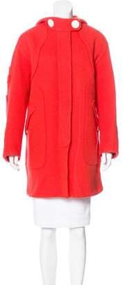 Marc Jacobs Wool Hooded Coat