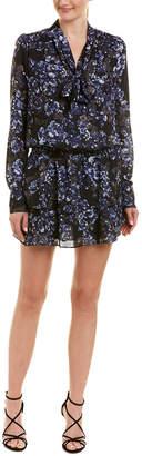 Parker Scarf Drop-Waist Dress