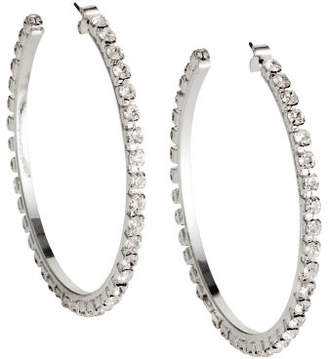 H&M Sparkly stone earrings - Silver