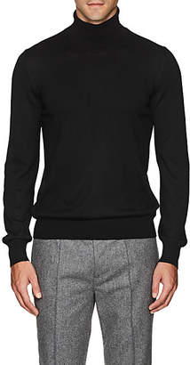 Barneys New York Men's Wool Turtleneck Sweater - Black