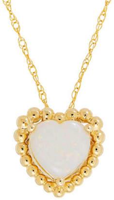 Tag Heuer FINE JEWELLERY 14K Gold Opal Pendant Necklace