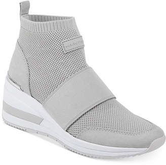 Marc Fisher Muscle Knit Wedge Sneakers Women Shoes