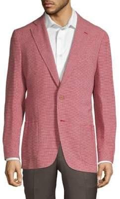 Isaia Gingham Sport Jacket