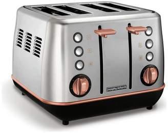 Morphy Richards 240116 Evoke 4 Slice Toaster - S/Steel