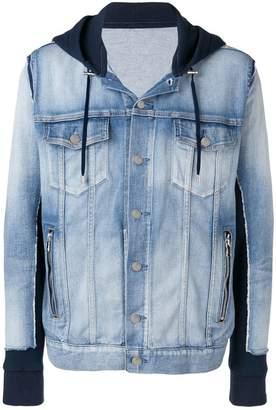 Balmain hybrid jacket
