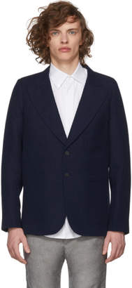 House of the Very Islands Blue Slim-Fit Tailored Blazer