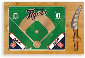 Picnic Time Detroit Tigers Icon Rectangular Cutting Board Gift Set
