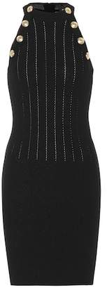 Balmain Wool-blend minidress