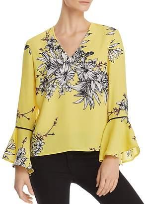 Vero Moda Satina Bell-Sleeve Floral Top
