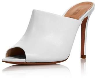 Schutz Women's Trudy High-Heel Peep Toe Mules