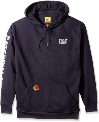 Caterpillar Big and Tall Flame Resistant Banner Hooded Sweatshirts