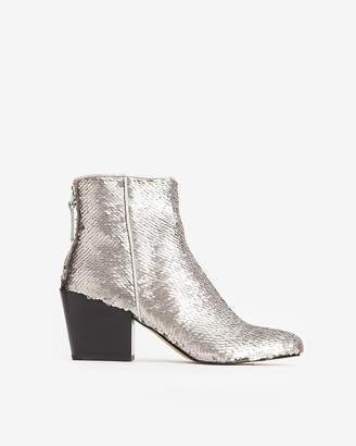 Express Dolce Vita Sequin Coltyn Booties