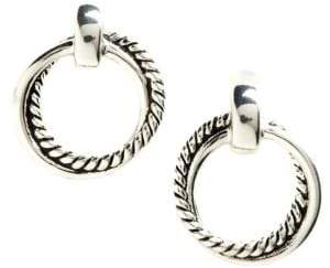 Lauren Ralph Lauren Twisted Link Doorknocker Earrings