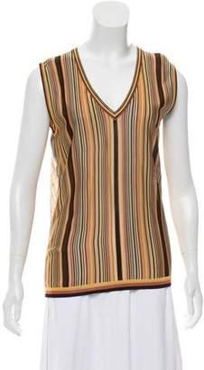 Hermès Striped Knit Top