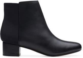 Clarks Collection By Chartli Valley Leather Booties