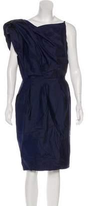 Martin Grant Silk Asymmetrical Dress