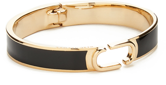 Marc Jacobs Icon Enamel Hinge Cuff $125 thestylecure.com