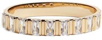 Vince Camuto Step Cut Crystal Vertical Station Bracelet