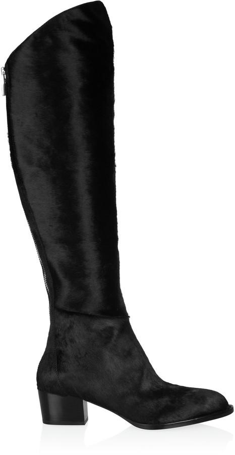 Alexander WangAlexander Wang Sigrid calf hair knee boots