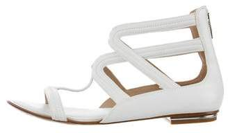 Michael Kors Leather Gladiator Sandals