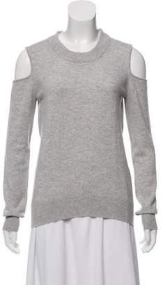 Veronica Beard Cashmere Cold-Shoulder Sweater