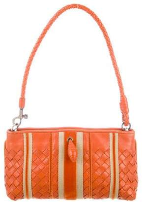 Bottega Veneta Mini Intrecciato Leather Bag