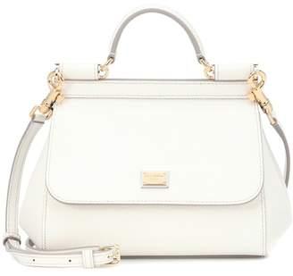 Dolce & Gabbana Sicily Mini leather shoulder bag