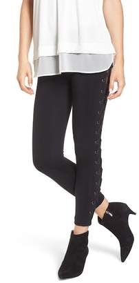 David Lerner Lace-Up Leggings