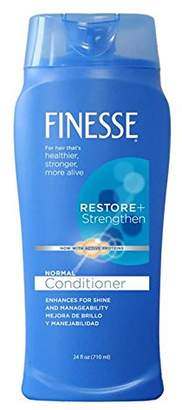 Finesse Restore + Strengthen Normal Conditioner (formerly Texture Enhancing) - 24oz - 6-Pack-- Enhance Hair's Shine & Manageability