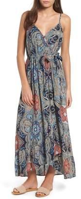 Band of Gypsies Kenzie Faux Wrap Dress