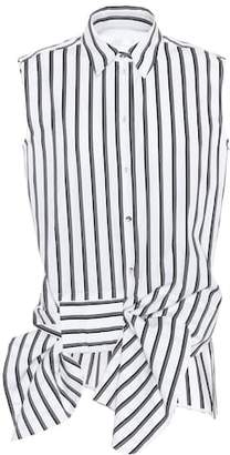 Victoria Beckham Victoria Sleeveless cotton shirt