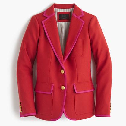 J.CrewRhodes blazer in tipped Italian wool
