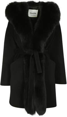 Ava Adore Fur Trim Coat