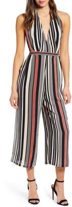 Leith Halter Cropped Jumpsuit