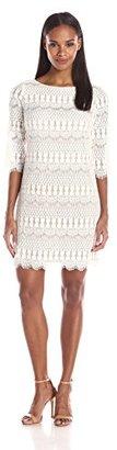 Jessica Howard Women's Lace Shift Dress $89.99 thestylecure.com