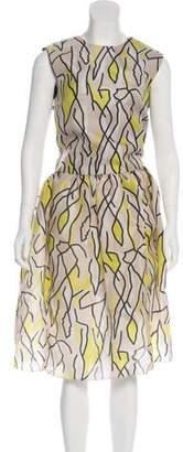 Ellery Silk Midi Dress w/ Tags