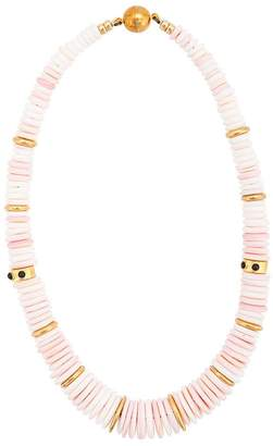 Lizzie Fortunato circle beaded necklace