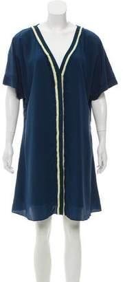 Elizabeth and James Silk Mini Dress w/ Tags