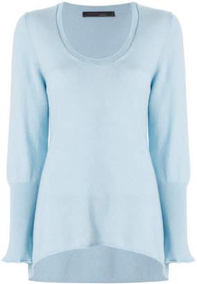Incentive! Cashmere scoop neck jumper