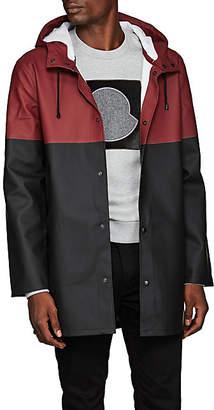 Stutterheim Raincoats Men's Stockholm Colorblocked Raincoat - Wine