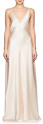 Narciso Rodriguez Women's Silk Charmeuse Gown - Blush