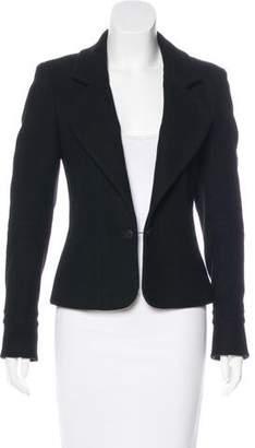 Chanel Wool Notch-Lapel Vest