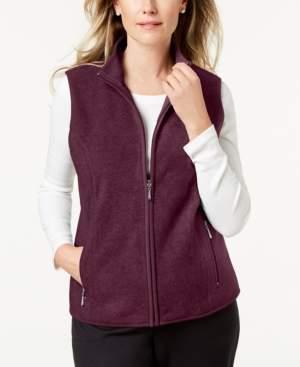 Karen Scott Petite Zip-Front Vest, Created for Macy's