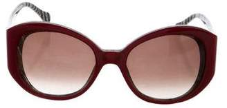 Elizabeth and James Oversize Round Sunglasses