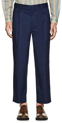 TOMORROWLAND Men's Cotton-Blend Twill Crop Trousers