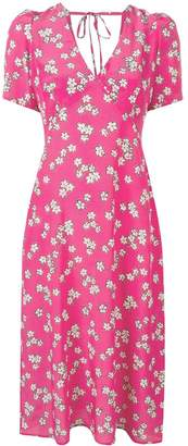 P.A.R.O.S.H. floral print midi dress