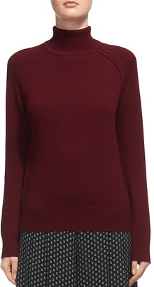 Whistles Harper Mock-Neck Sweater $210 thestylecure.com