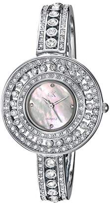Adee Kaye Women's Quartz Brass Dress Watch