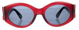 Bvlgari Tinted Rectangular Sunglasses