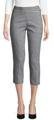 Context Cropped Gingham Trousers